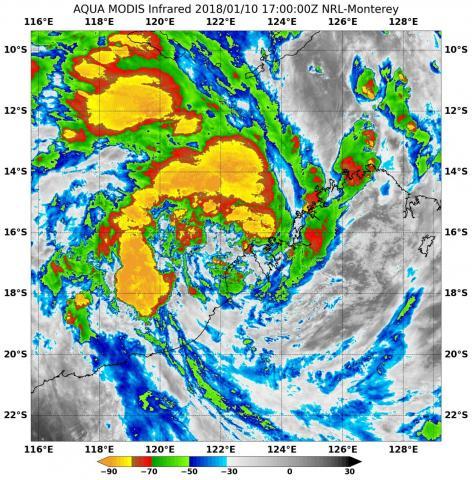 Lightning Storm Brews Off Coast of Broome Ahead of Cyclone Joyce