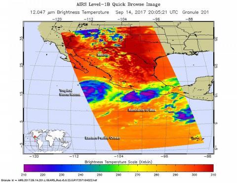 Hurricane Max heads toward Mexico's touristy Pacific coast